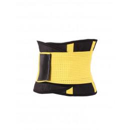 Fitness opasek dámský žlutý