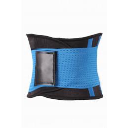 Fitness opasek dámský modrý