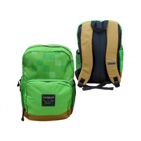 Minecraft batoh zelený
