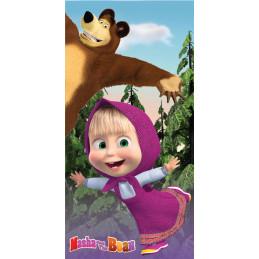 Dětská osuška Máša a medvěd...