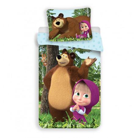 Dětské povlečení Máša a medvěd