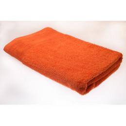 Oranžová osuška 70x140cm