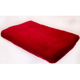 Červená osuška 70x140cm