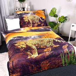 3D povlečení leopardí