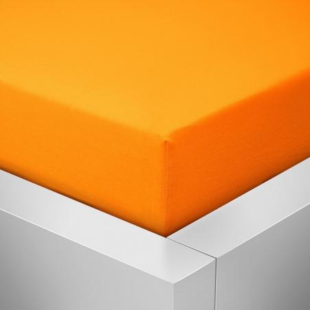 Prostěradlo oranžové Jersey