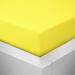 Prostěradlo žluté Jersey