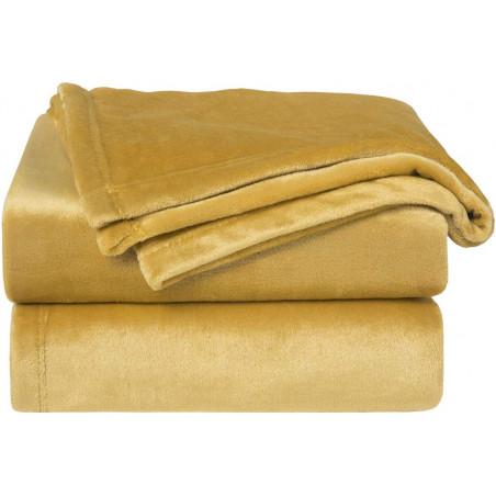 Zlatá deka z mikrovlákna 150x200cm