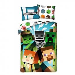 Povlečení Minecraft Alex a...