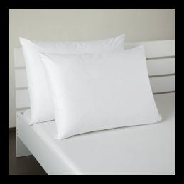 Saténový povlak bílý 50x70cm