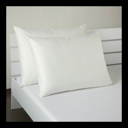 Saténový povlak krémově bílý 50x70cm