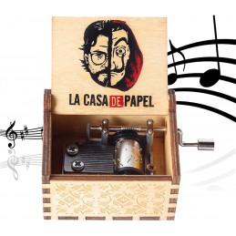 Hrací skříňka La Casa de Papel