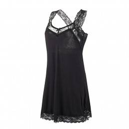 Dámská noční košile černá