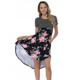 Letní šaty s krátkým...