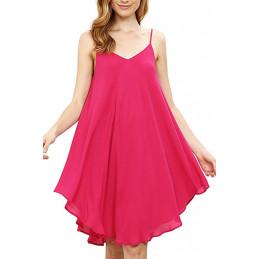 Plážové šaty růžové