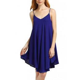 Plážové šaty modré