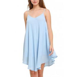 Plážové šaty světle modré