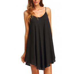 Plážové šaty černé