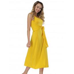 Letní šaty žluté