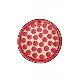 Kulatá plážová deka Pizza