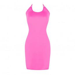 Letní šaty k moři růžové