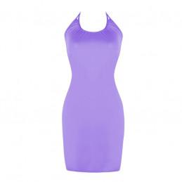 Letní šaty k moři fialové