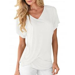 Dámské tričko sněhově bílé