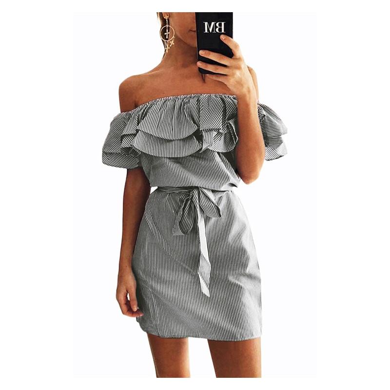 Krásné letní šaty ze 100% přírodního materiálu (lněné tkaniny) 0b49a88f3f