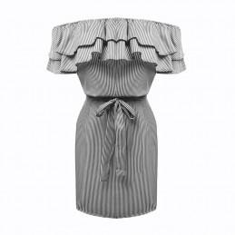 Lněné letní šaty šedé 1100c8a59b