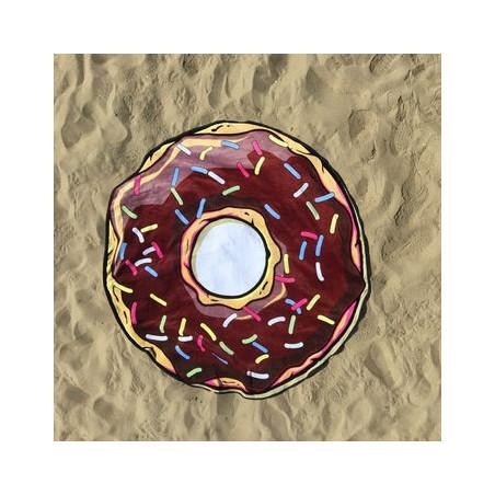 Kulatá plážová deka Donut
