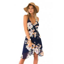 Šifonové květinové šaty