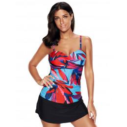 Plavkové šaty barevné