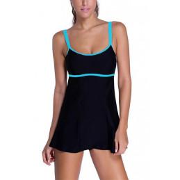 Plavkové šaty sportovní černé