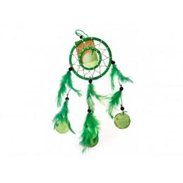 Lapač snů zelený 35cm