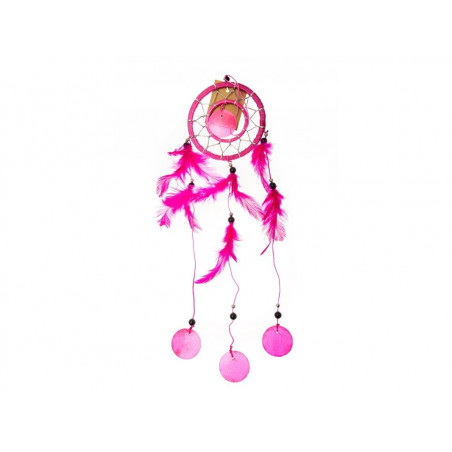 Lapač snů růžový 35cm
