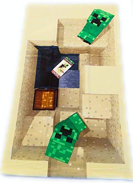 Dětská osuška Minecraft Creeper 70x140cm