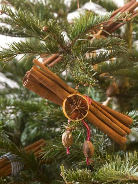 Přírodní vánoční stromeček
