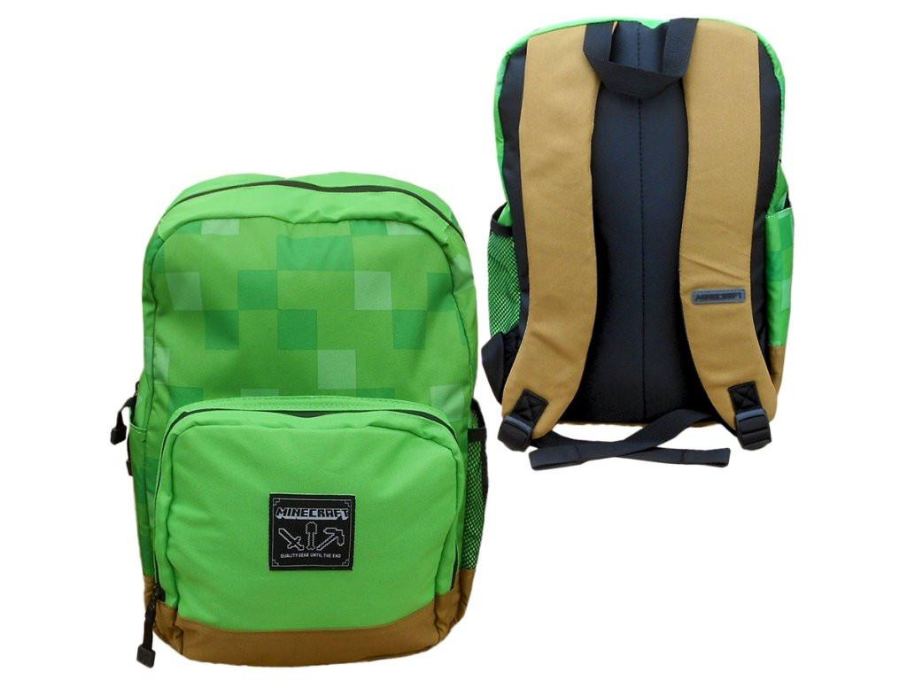5234ebd48b Minecraft batoh zelený